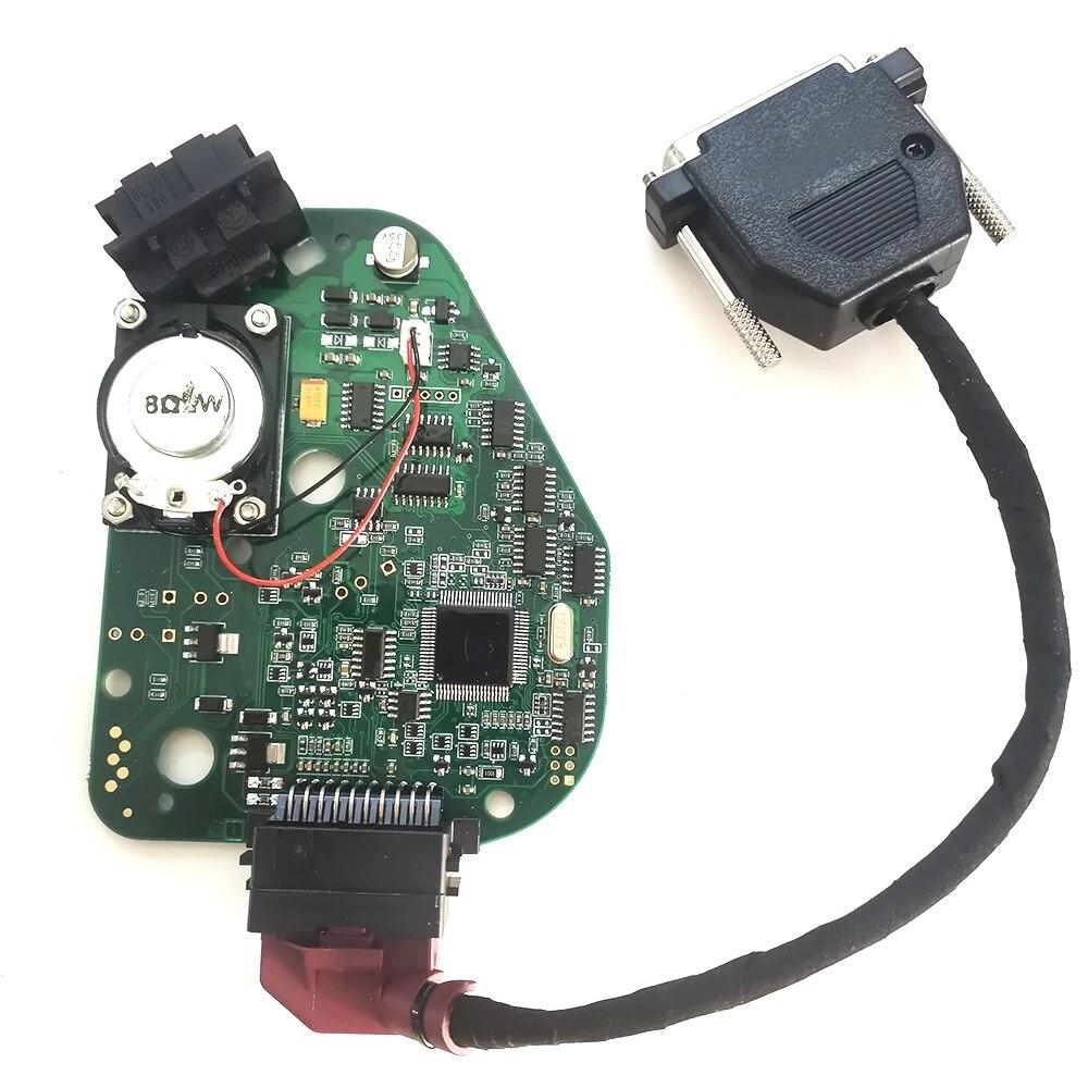 محاكي قفل عجلة القيادة للسيارة ، J518 ELV EIS ، لوحة توجيه ، عمود محاكاة لأودي A6 Q7 C6 VVDI CG100 R270 Xprog مبرمج