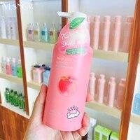 peach moisturizing body lotion deep moisturizing and whitening the whole body
