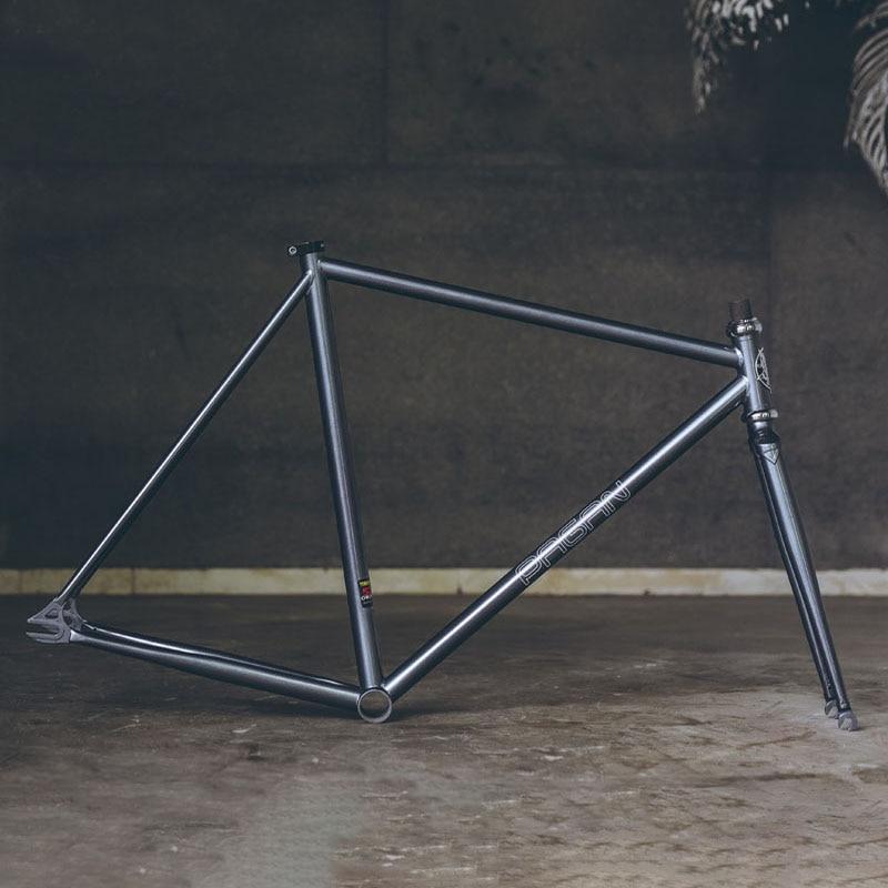fixie bike frame Reynolds 525 Chrome molybdenum steel road Bike frame with lug frame customize 650C 700C bike frame bicycle
