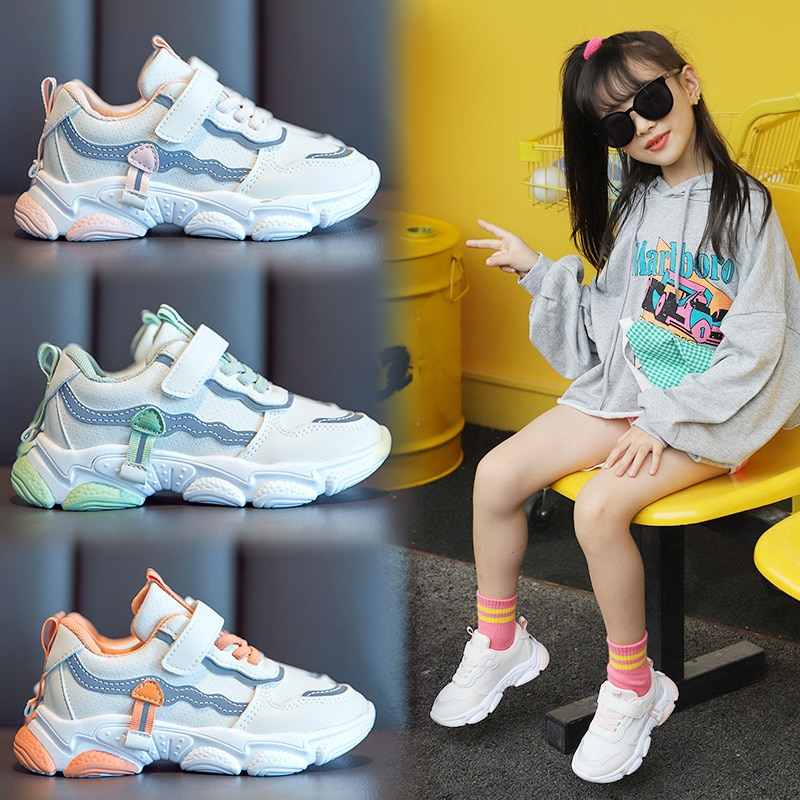 Girls' Shoes Sneakers Spring and Autumn 2020 New Men and Women Men and Women Sneakers