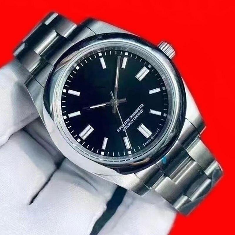 الرجال الميكانيكية ساعة معصم كرونوغراف التلقائي المحار الأبدي موضة العلامة التجارية الفاخرة امرأة الفولاذ المقاوم للصدأ ساعة ميكانيكية