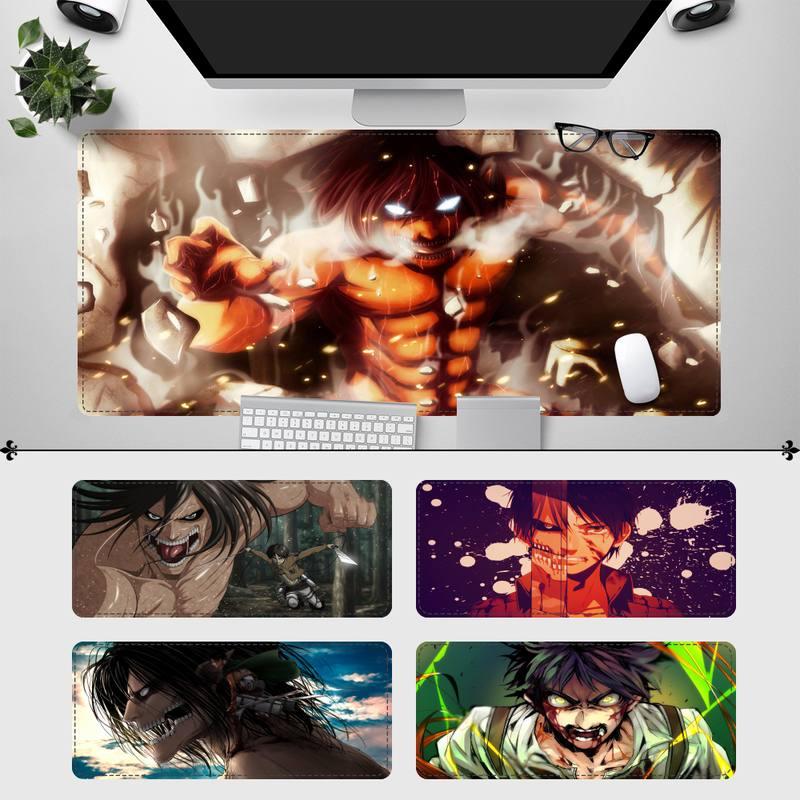 Модный игровой коврик для мыши Эрена йера, игровой коврик для клавиатуры, Настольный коврик для мыши, игровые аксессуары для Overwatch