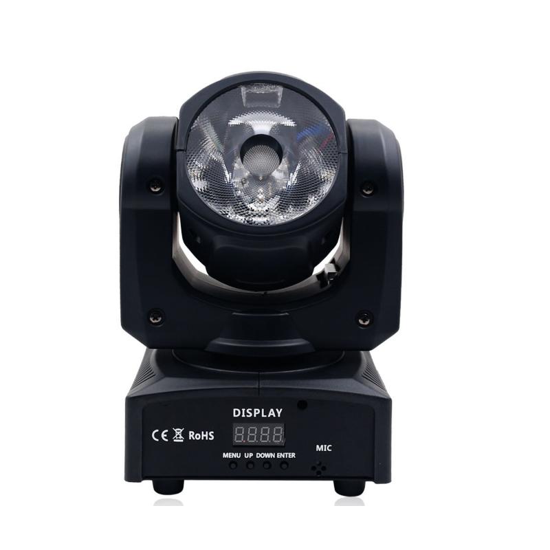 سطوع عالية LED 60 واط RGBW 4in1 شعاع صغير تتحرك رئيس ضوء مع تحكم DMX ل ديسكو Dj Pun إزالة الأعشاب الضارة كشاف شعاع صغير
