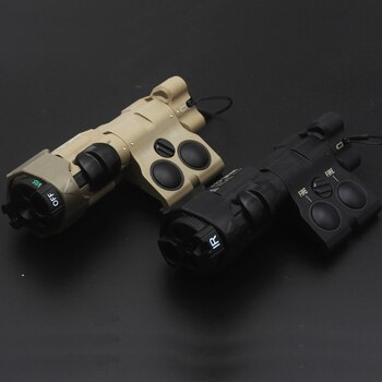 MAWL-C1+ Laser Aiming Device Clone With Contains Green VIS, IR And White Light Replica For Milsim Airsoft 2021Ver. Nylon Shell