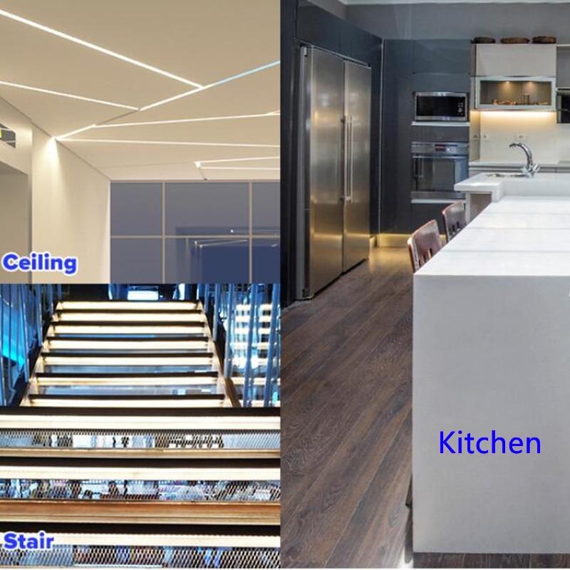YANG MIN Free Shipping COB CCT adjustable bicolor led light strip cob 24v cuttable Indoor lighting cct cob strip enlarge