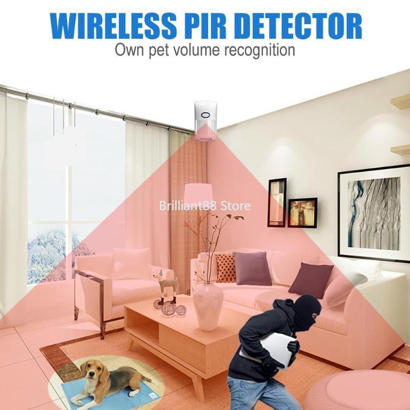 Home Burglar Alarm System, Home Security Alarm System, With LCD Touch Keypad, Alarm System, WiFi / GSM, App Control, CS108 enlarge