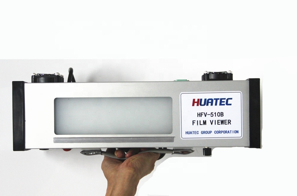 HUATEC 2021 Mobile Working Industry LED Film Viewers Portable Film Viewer HFV-510B enlarge