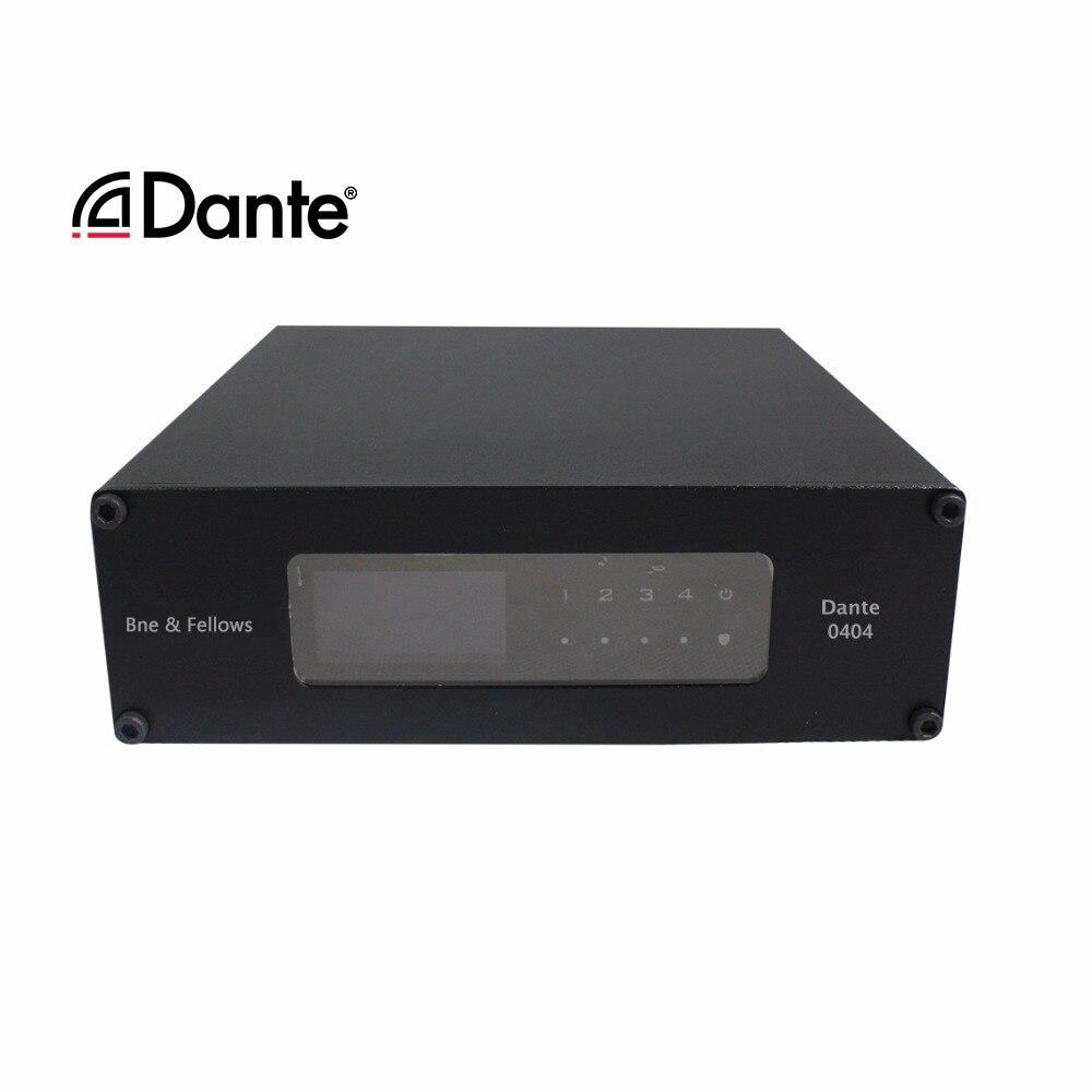 Ben & fellow Dante-محول إشارة الصوت ، واجهة شبكة RJ45 ومصدر طاقة POE