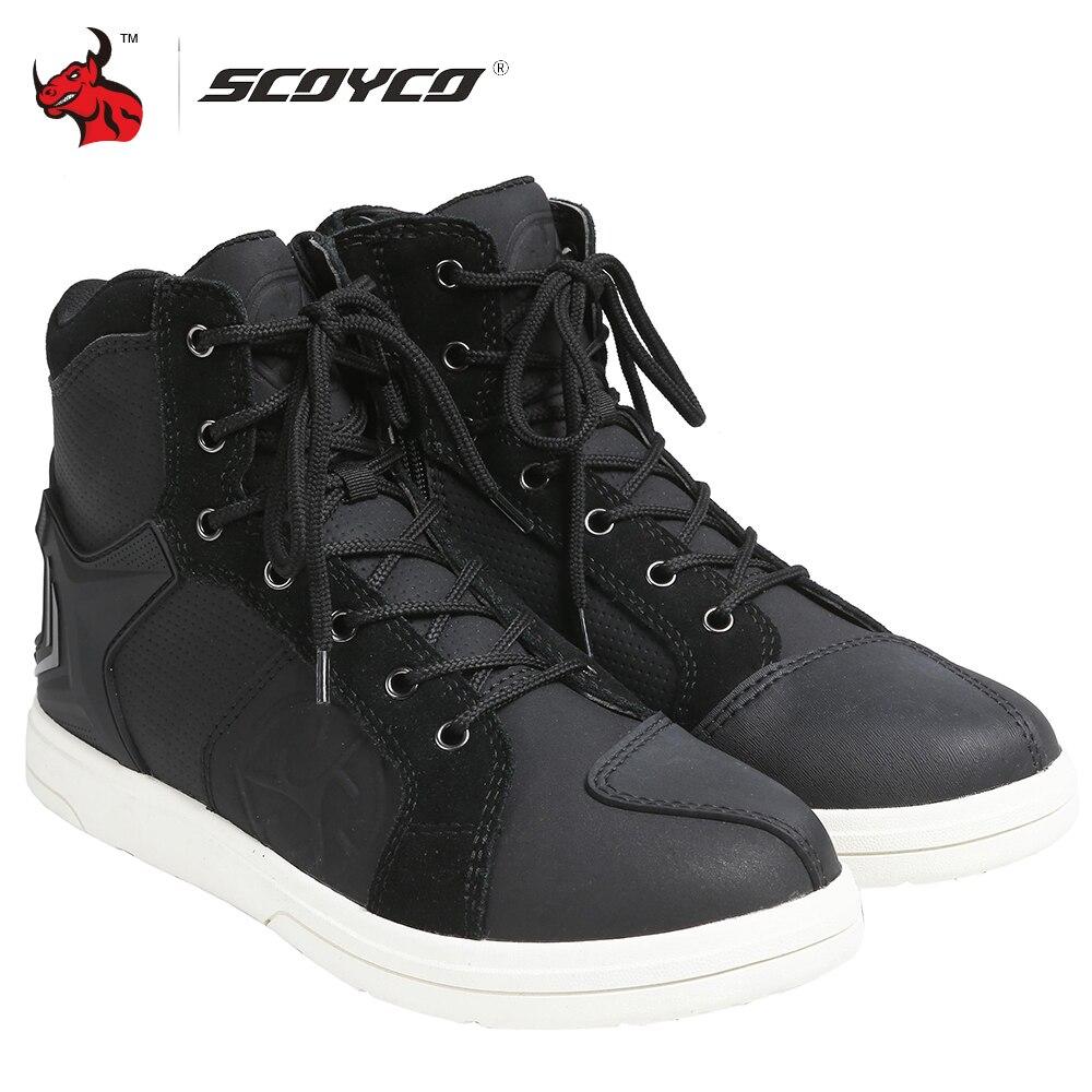 SCOYCO 2021 الرجال دراجة نارية الأحذية للماء موتوكروس الأحذية موتو بوتاس موتو دراجة نارية الأحذية مع 2 قطعة رباط الحذاء