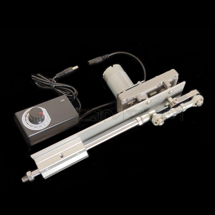 دورة الترددية الخطي المحرك تيار مستمر 12 فولت/24 فولت والعتاد قابل للتعديل تلسكوبي موتور لتقوم بها بنفسك المحرك مع سرعة تحكم السكتة الدماغية ...