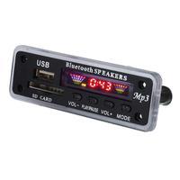 Автомобильный Динамик MP3 плеер AUX USB SD FM радио безопасность цифровая карта беспроводной Bluetooth 5,0 MP3 декодер модуль