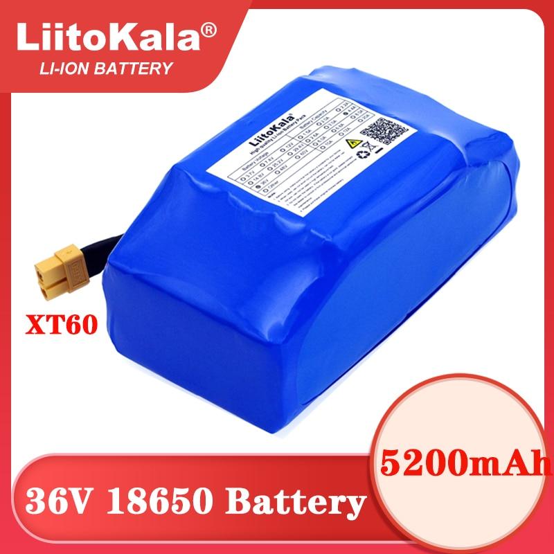 36V 5.2Ah 5200mah عالية استنزاف 2 عجلة الكهربائية سكوتر الذاتي موازنة بطارية ليثيوم حزمة ل الذاتي موازنة يناسب 6.5