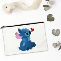 mini bag cute blue animal makeup storage cosmetic for ipad pouch bags women organizer free shipping travel set handbags make up