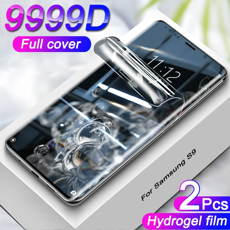 AliExpress - Full Cover Curved Screen Protector On For Samsung Galaxy S9 S8 S10 S20 Plus Hydrogel Film For Samsung A50 A70 A71 Film Not Glass