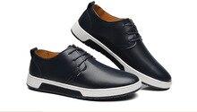 2019 nouvelle marque de luxe hommes chaussures en cuir hommes chaussures décontractées mode mâle adulte chaussures chaussures plates hommes Oxfords hommes chaussures habillées