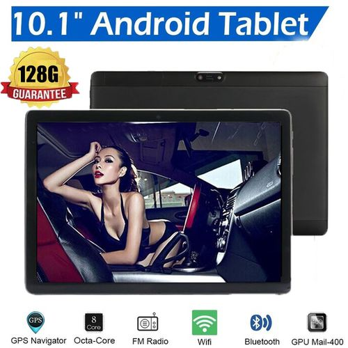 10 Inch Dual Sim 4G Smartphone Tablet PC  WIFI Android 8.1 Octa Core 6G +128GB Tablet  Dual Camera 4G Phone Pad Wifi Tablet PC