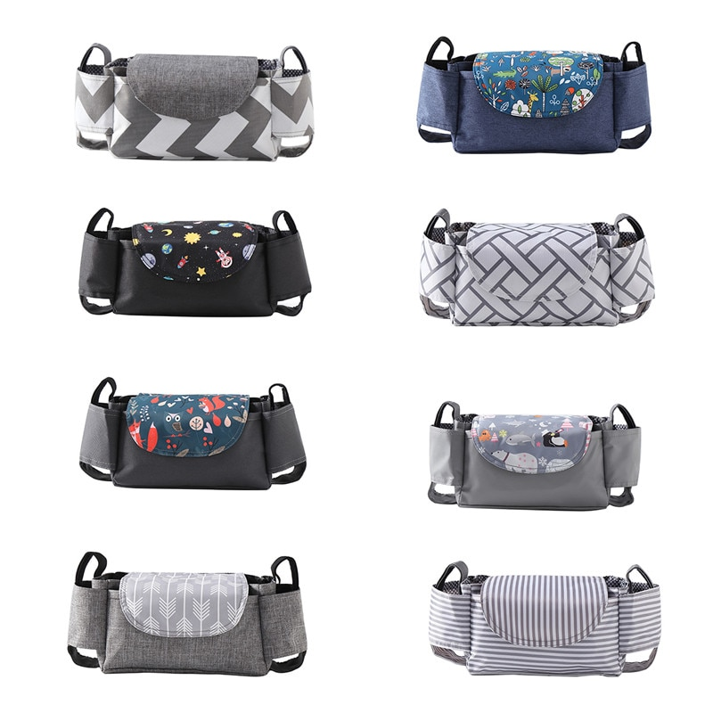 Universal Buggy Baby Pram Organizer Bottle Holder Multipurpose Baby Stroller Accessory Stroller Cadd