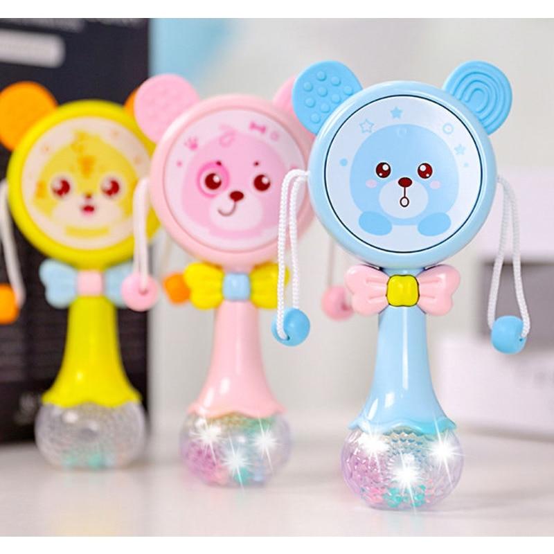 chocalhos musicais para bebes brinquedo educacional de 0 a 12 meses para carrinho