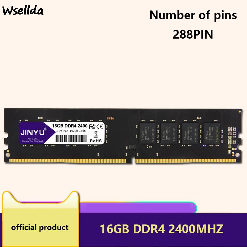 Memory Is Fully Compatible With DDR4 16GB 2400MHz Memory 2400MHz 2666MHz Computer Memory DDR4 RAM Desktop Computer
