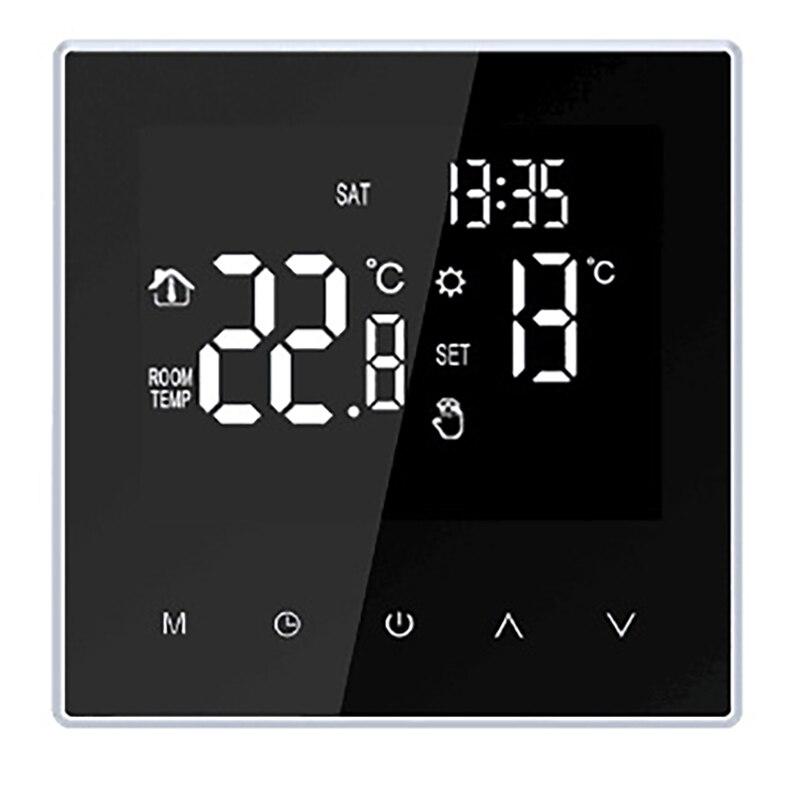 ME88H الذكية واي فاي أداة تحكم في درجة الحرارة بالترموستات للغلاية الكهربائية التدفئة الكلمة الغاز
