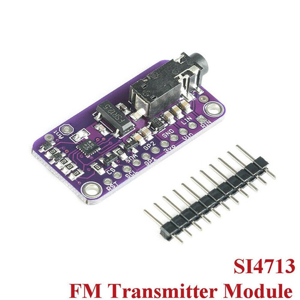 CJMCU 4713 SI4713 MCU подключение стерео радио Простая установка FM передатчик Модуль платы DIY Мини цифровой беспроводной запасной части