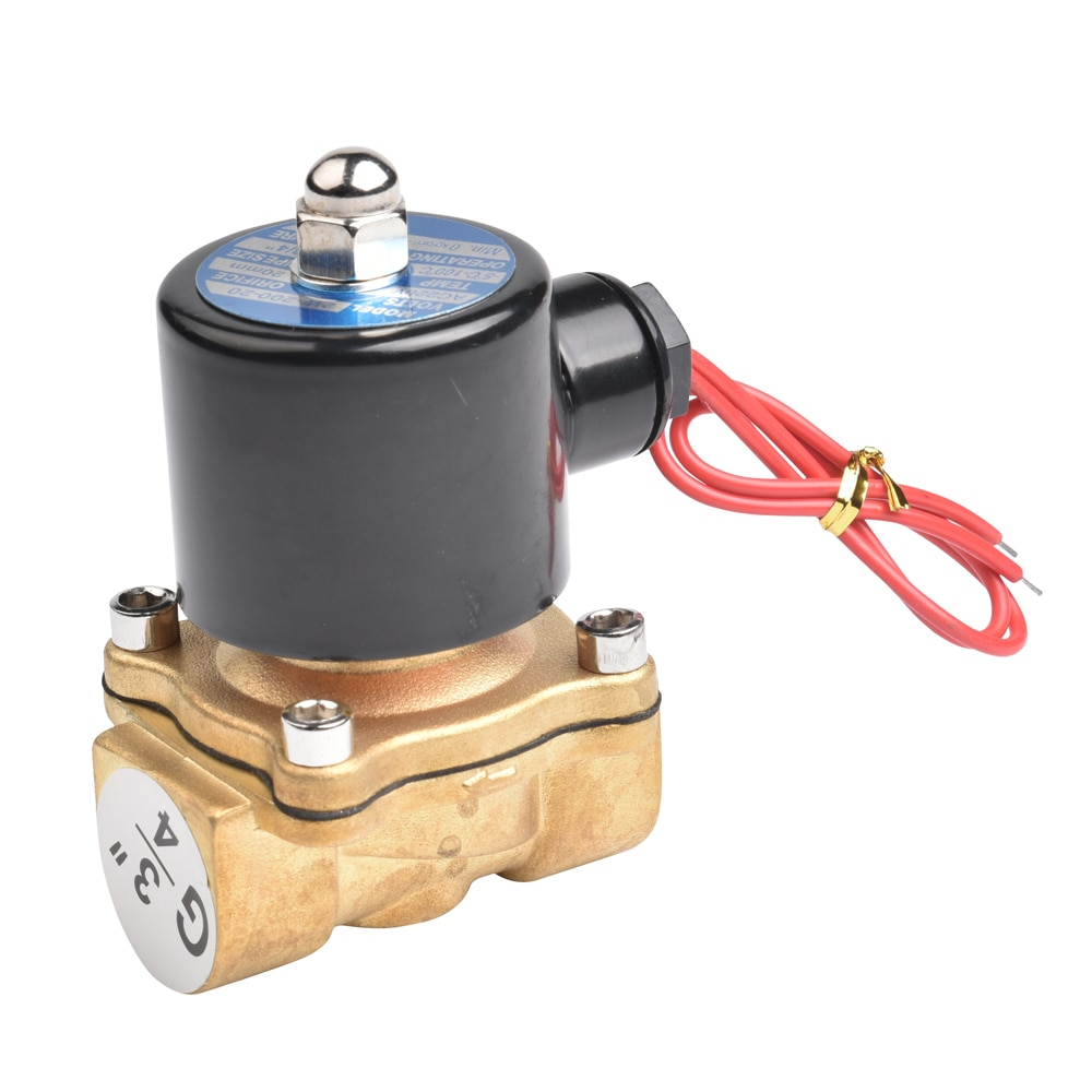 TK 3/4 Inch direct acting water air solenoid valve AC220V 24VDC 2W-200-20 enlarge