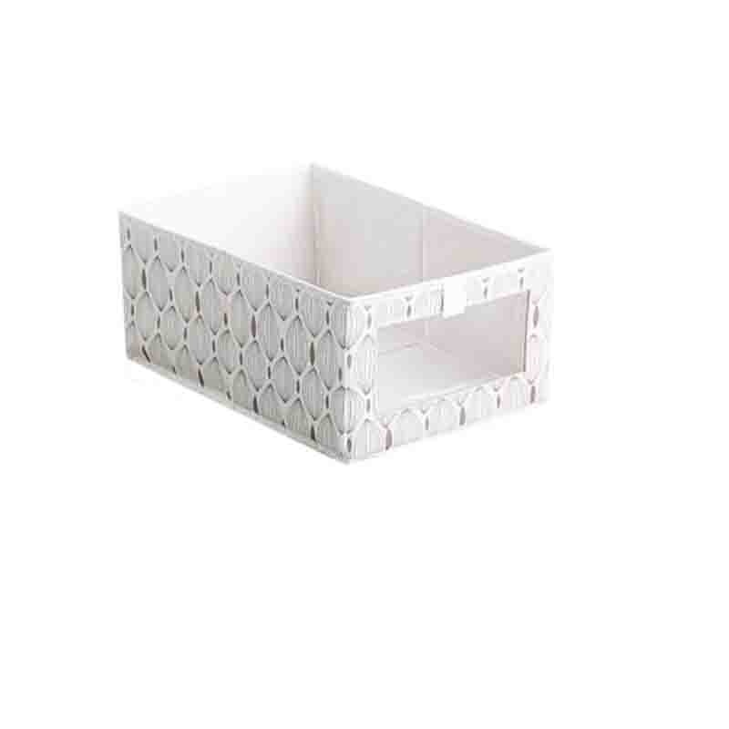 Folding storage box without cover, sundries box, toy storage box, household hollow closet, clothes storage box  - buy with discount