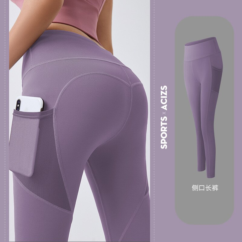 Yoga Pants Women with Pocket Plus Size Leggings Sport Girl Gym Leggings Women Tummy Control Jogging Tights Female Fitness pants