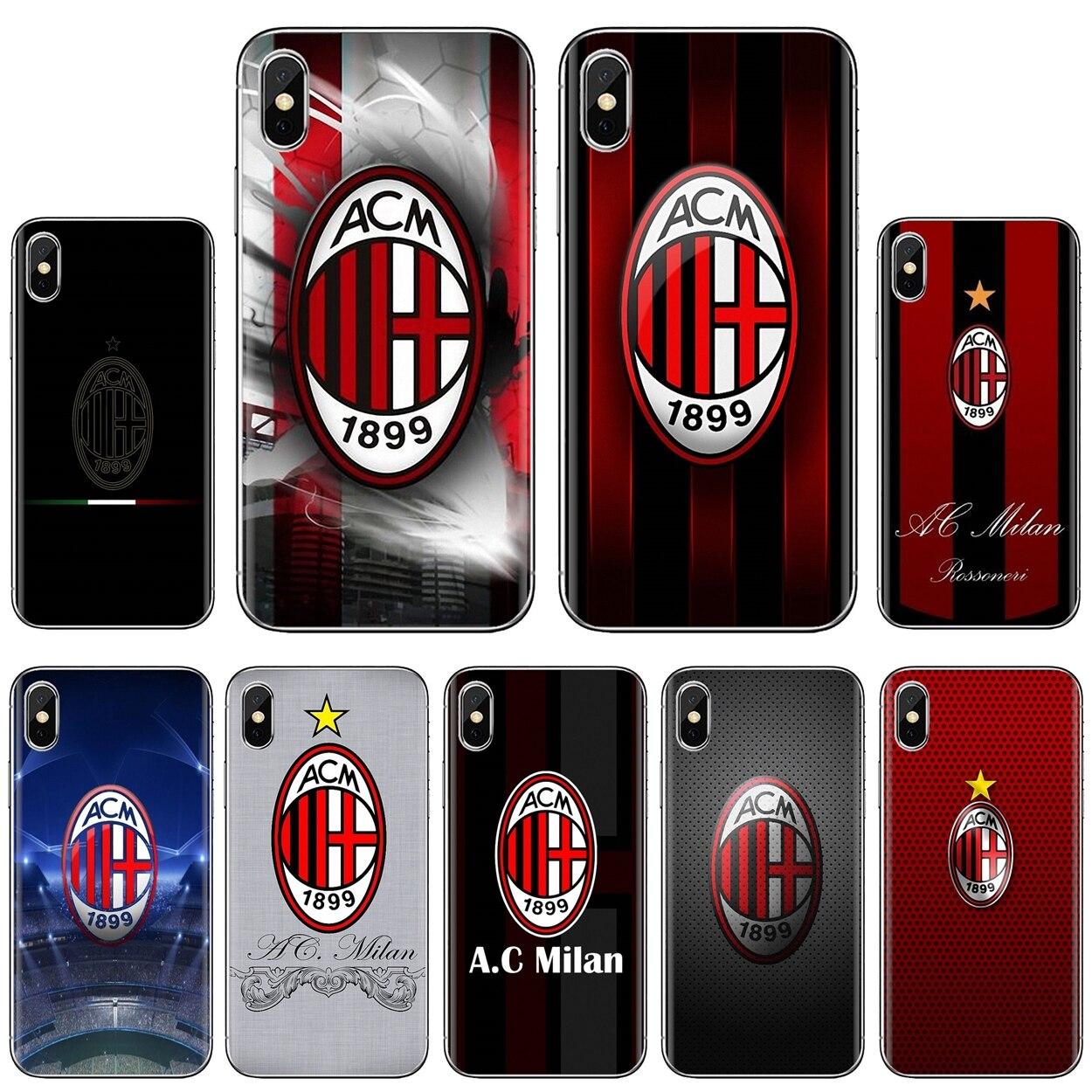 AC Milan FC Associazione Calcio Milan Für Xiaomi Mi A1 A2 A3 5X 6X 8 9 9t Lite SE pro Mi Max Mix 1 2 3 2S Silikon Telefon Fall