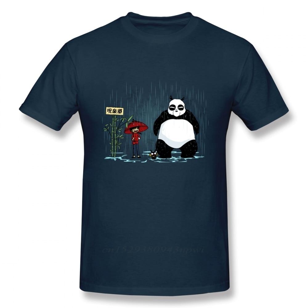 Camiseta de Ranma para hombre, camisa Harajuku informal de Panda, de talla...