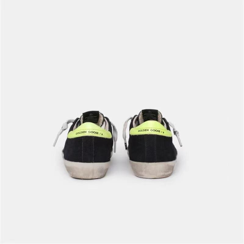 Spring Product Cow Hair Children's Retro Dirty Shoes for Boys and Girls Casual Fluorescent Green Back-Tail Kids Sneakers CS218 enlarge