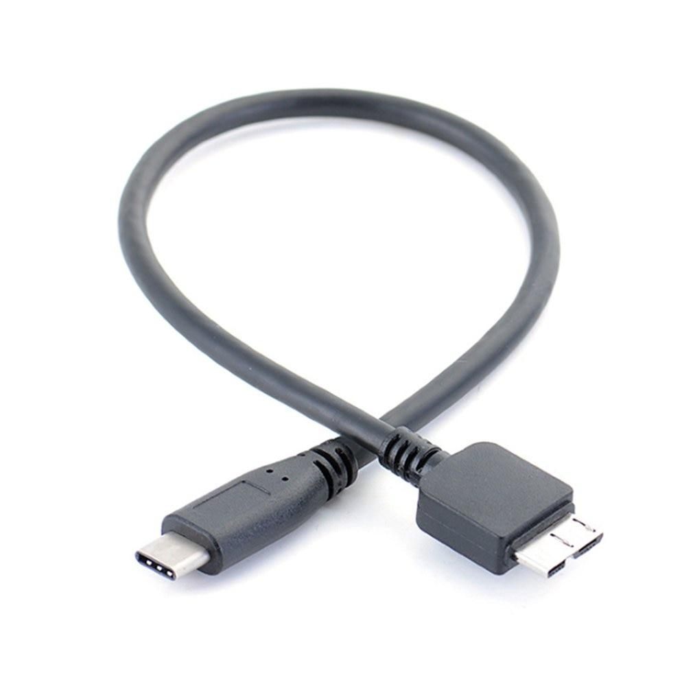 USB 3,1 tipo-c macho a USB 3,0, Cable de datos Micro B macho para Tablet y teléfono