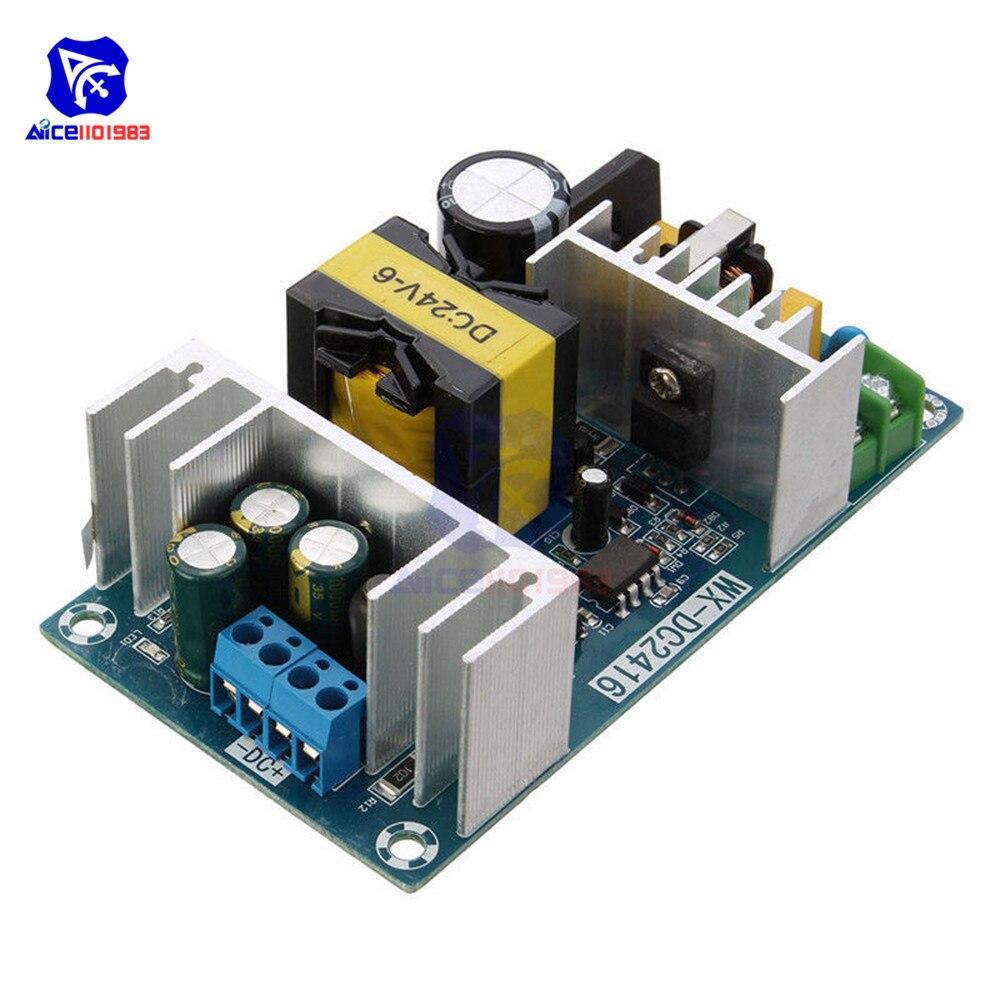 AC-DC ac dc power module transformer 4a para 6a dc 24 v max 9a 150 w estável de alta potência comutação placa do adaptador de alimentação