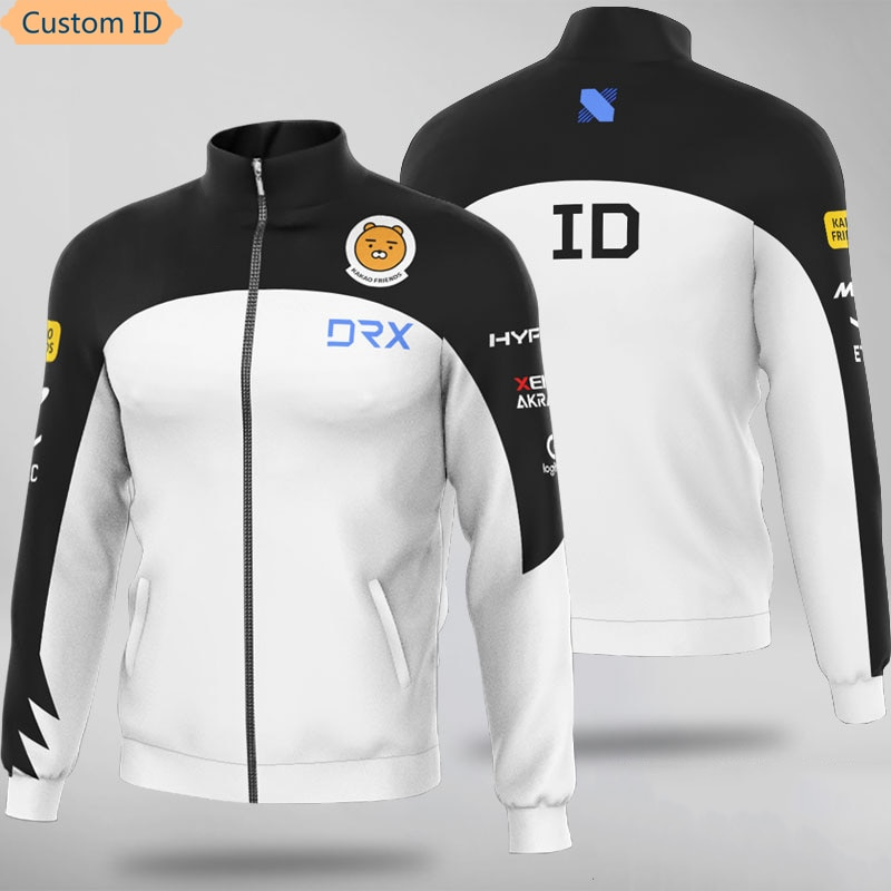 DOTA E-Sports Player Jerseys Team DRX Uniform For Men Women Custom ID Jacket Coat Hoody Customized Name Sweatshirts Hoodies