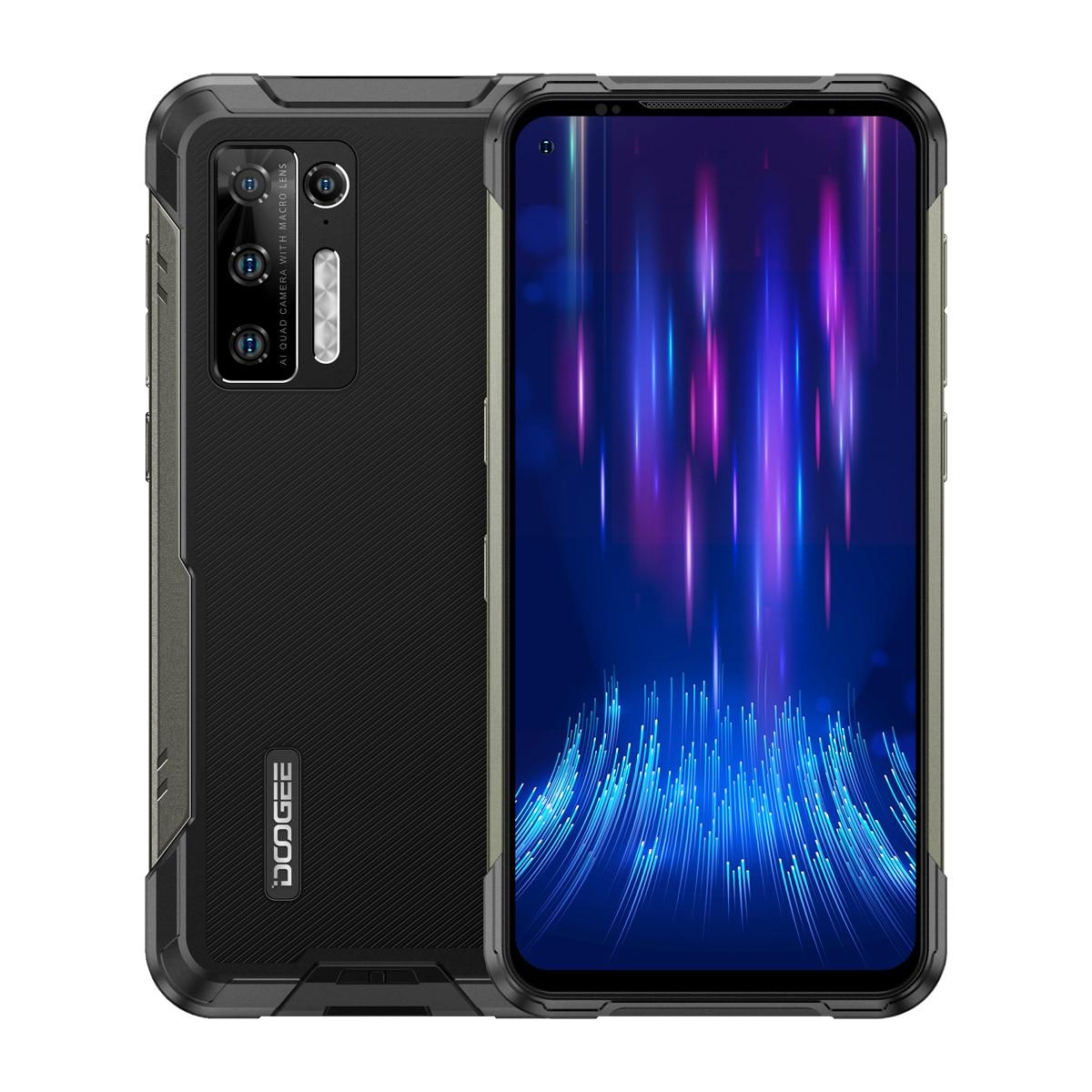 DOOGEE S97 Pro IP68 Водонепроницаемый мобильного телефона 40m Лазерный диапазон 8 ГБ + 128 ГБ 48MP Helio G95 8500 мАч Android 11 NFC 4 аппарат не привязан к оператору со...