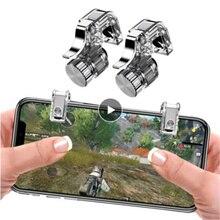1Pair Phone Metal Gamepad Portable Universal Trigger Fire Button Aim Key L1R1 Shooter Controller PUB