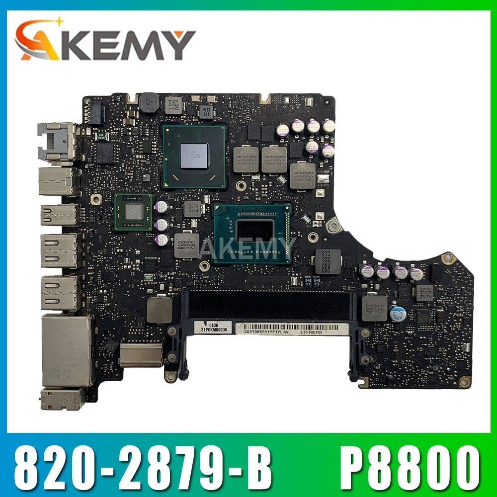 "A1278 P8800 материнская плата для ноутбука материнская плата для Macbook pro13 Pro 13 ""13 Mid 2010 EMC 2351 820-2879-B 2,667 GHZ"