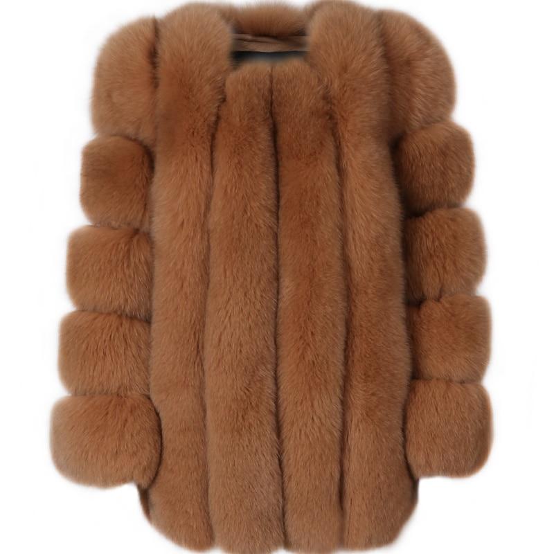 SHZQ معطف الفرو النساء معطف الفرو الحقيقي معطف الفرو الطبيعي