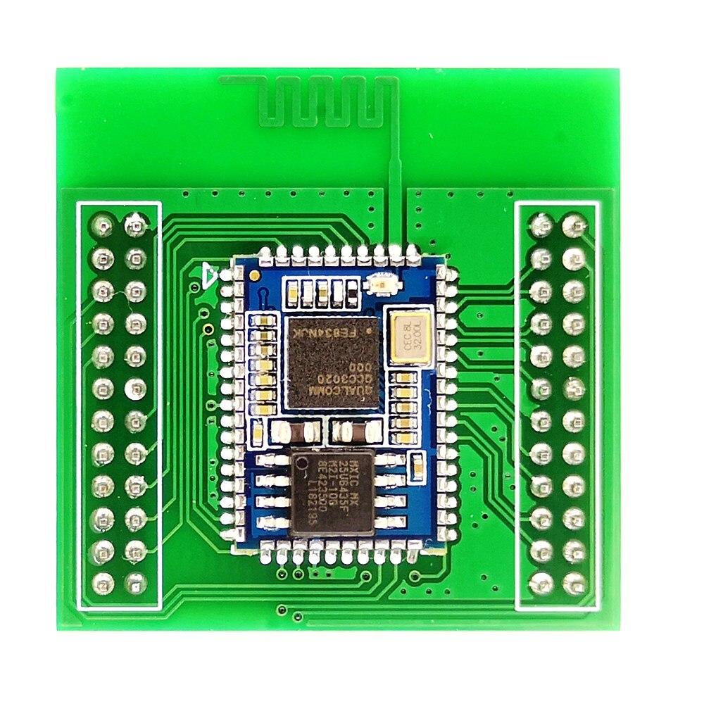 QCC3020 QCC3034 QCC5124 QCC5125 QCC5126 Placa de desarrollo dedicado Bluetooth 5,0 módulo núcleo