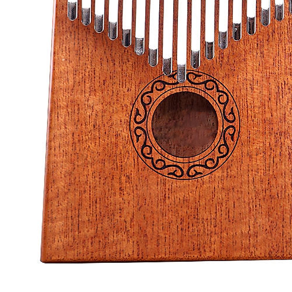 17 Keys Kalimba Thumb Piano High Quality Wood Mbira Body Musical Instruments With Learning Book Kalimba Piano Christmas Gift enlarge