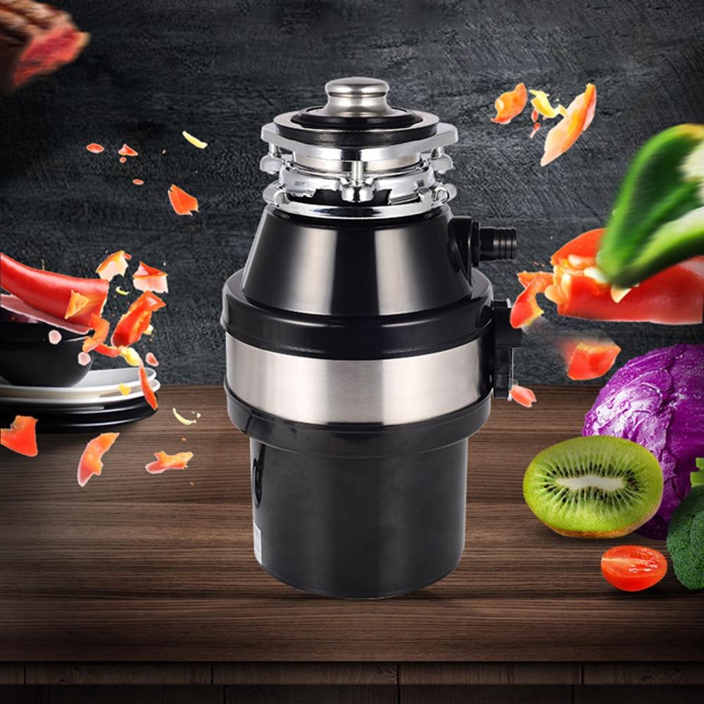 المطبخ الغذاء النفايات المتخلص الغذاء القمامة المعالج المطبخ النفايات أداة تقطيع الطعام المجاري أجهزة مطبخ النفايات المنزلية المتخلص