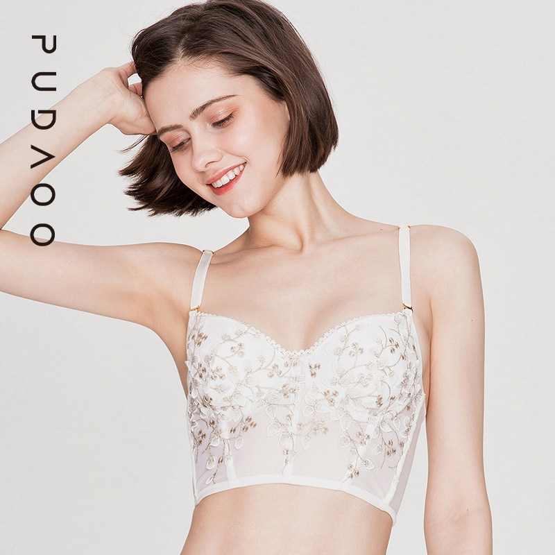 Lace Tanks Top Lingerie Set Sexy Womens Underwear Transparent Bra Party Sets Embroidery