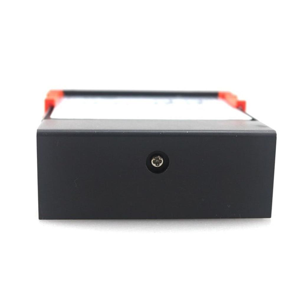 Termostato de temperatura Digital de doble etapa Fahrenheit con Sensor para impresora 3D, congelador, nevera, eclosión