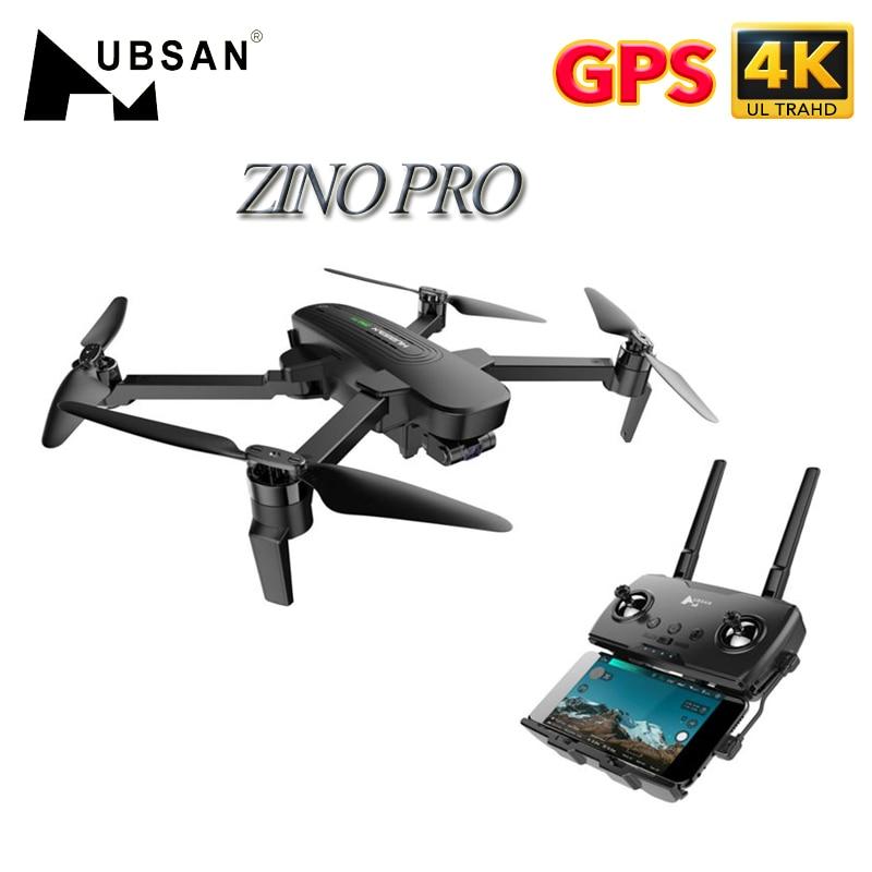 HUBSAN ZINO PRO 2B الأصلي مع حقيبة-RTF RC Drone Quadcopter 4 K UHD Camera 3-Axis Gimbal 4 كجم Flight Distance GPS FPV 5G wifi