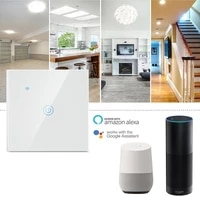 1 2 3 gang EWelink WiFi commutateur tactile intelligent AC100-250V bouton mural pour Alexa et Google