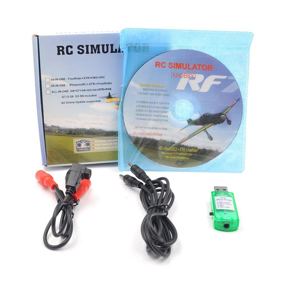 22 in 1 RC Wireless Flug Simulator Realflight G7 phoenix 5,0 Für Flysky i6x/ FUTABA/ Radiolink AT9s at10