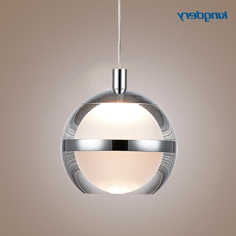 Accesorios de cocina de cristal vintage, lámparas de techo, lámpara moderna