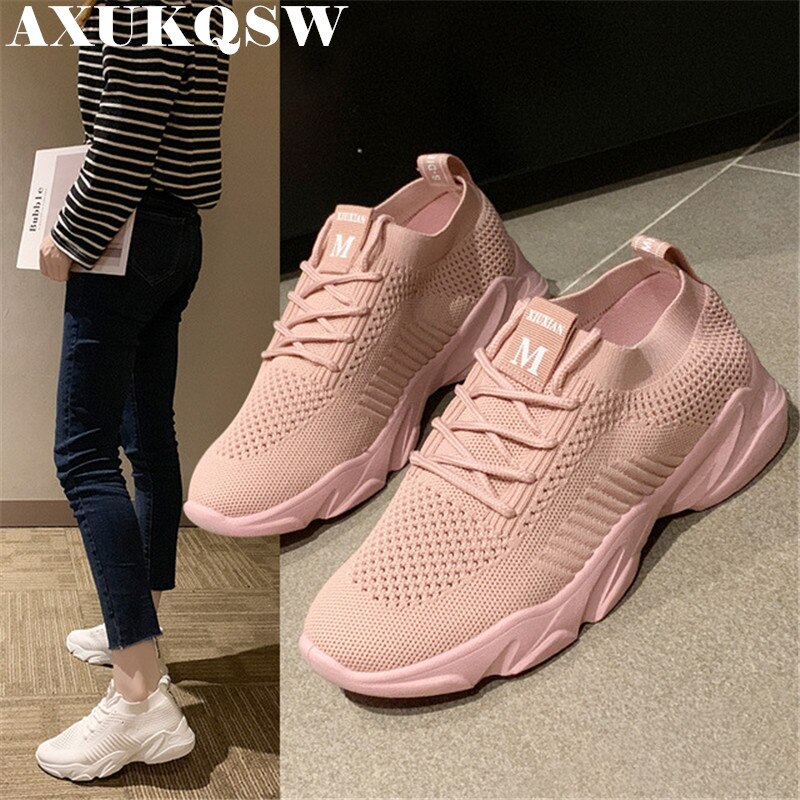Mode frauen Tennis Schuhe Hohl Eye Net Zapatos De Mujer Atmungsaktive Sport-Schuhe Tenis Feminino Socken frauen Schuhe