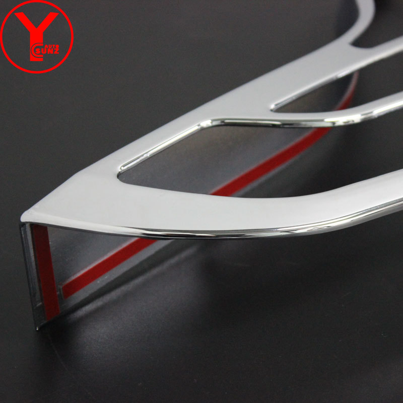 ABS Chrome Rear taillight Strips Back lamp Decoration Cover Trim Sticker Car Accessories For Kia Sorento 2013 2014 2015 YCSUNZ enlarge