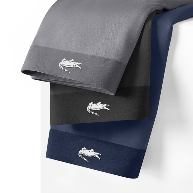 Brand Men's Underwear Graphene 3A Grade Antibacterial Pure Cotton Moisture Absorbent Soft Elastic Waistband Male Panties Boxer